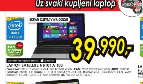 Laptop Satellite NB10t-A-103