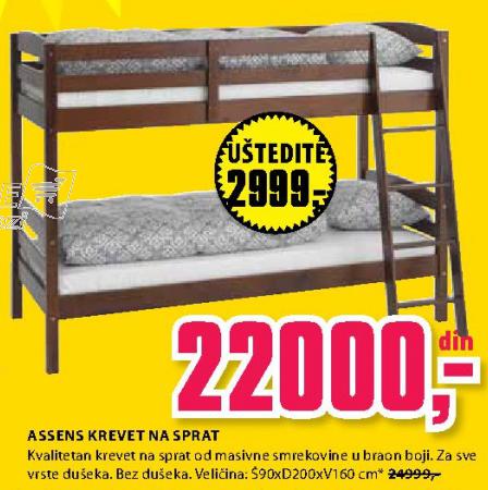 Krevet na sprat Assens