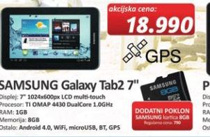 """Tablet Galaxy Tab 2 7"""""""