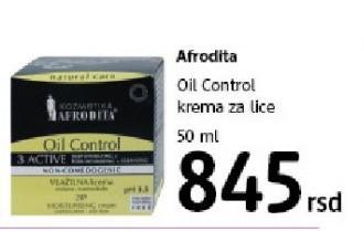 Krema za lice Oil Control