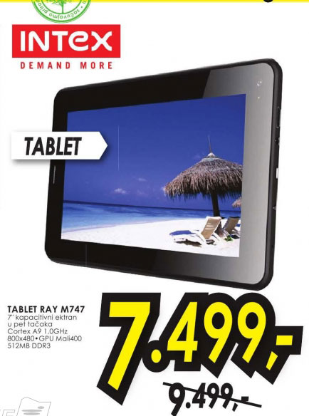Tablet RAY M747