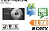 Fotoaparat SONY Dsc - W730+Poklon SD kartica 8GB