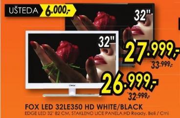 """Televizor LED 32"""" 32le350 Hd White"""
