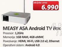 Android TV Box MEASY ASA