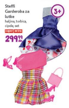 Igračka garderoba za lutke