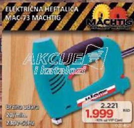 Električna heftalica MAC-73