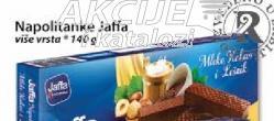 Napolitanke mleko, kakao i lešnik
