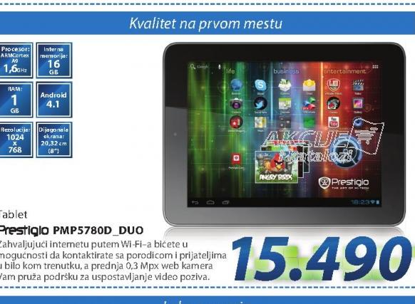 Tablet PC PMP5780D_DUO