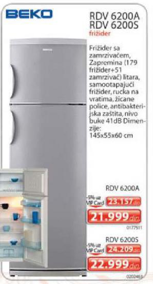 Frižider Rdv6200A