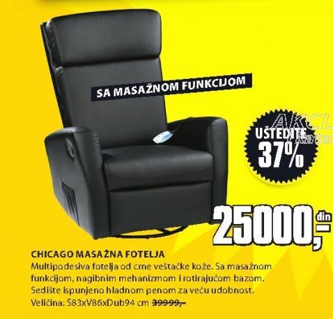 Fotelja Za Masažu CHICAGO
