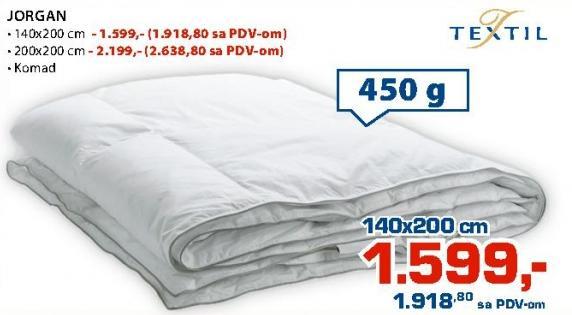 Jorga 140x200cm Textil