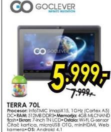 Tablet TERRA 70L