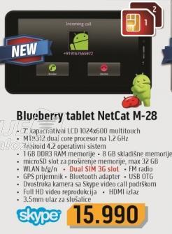 Tablet Netcat M-28