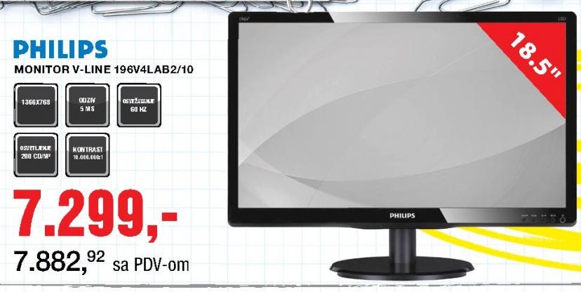 Monitor V-line 196V4LAB2/10