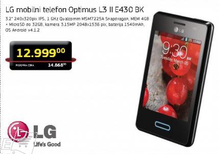 Telefon mobilni  Optimus L3 II E430
