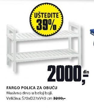 Polica za obuću FARGO