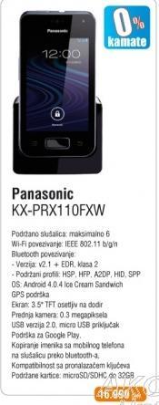 Telefon KX-PRX110FXW