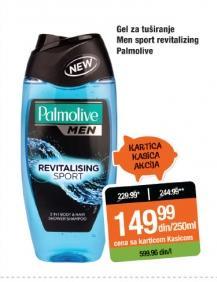 Gel za tuširanje Men Sport Revitalizing
