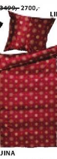 Posteljina Ling crvena