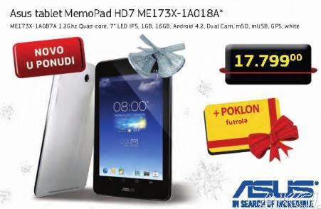 Tablet Memo pad HD7 Me173X-1A018A