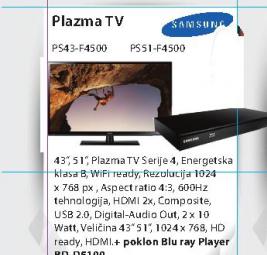 Televizor plazma PS43-F4500