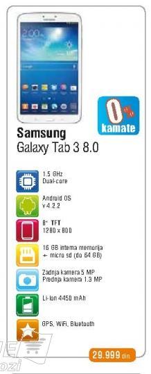Tablet T310 Galaxy Tab 3 8.0