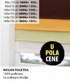 Roletna Megan, 140x170cm