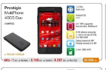Mobilni telefon 4505 Duo