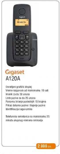Fiksni Telefon A120a