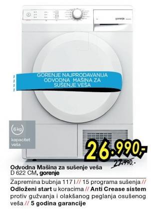 Mašina Za Pranje I Sušenje Veša D622CM