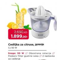Cediljka za citruse CJ 50W
