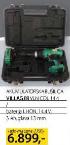 Akumulatorska bušilica Vln cdl 14.4
