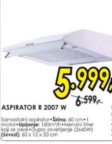 Aspirator R 2007 W