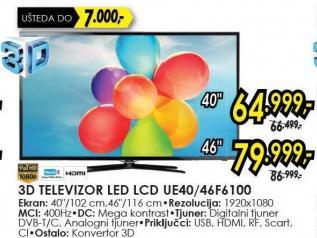 "Televizor LED 46"" Ue46f6100"