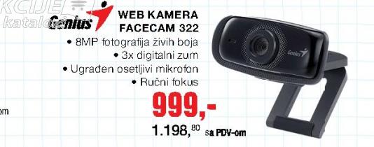 Web kamera Facecam 322