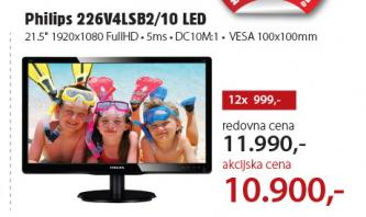 Monitor LED 226V4LSB2/10
