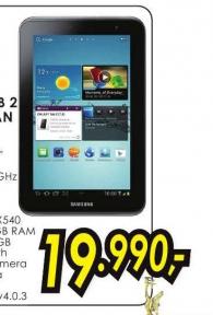 Tablet Galaxy Tab 2 P3110, Titan silver