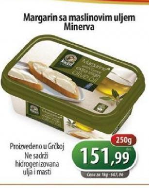 Margarin sa maslinovim uljem