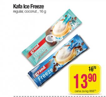Ice coffee freeze
