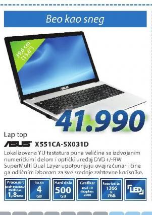 Laptop računar X551CA-SX031D