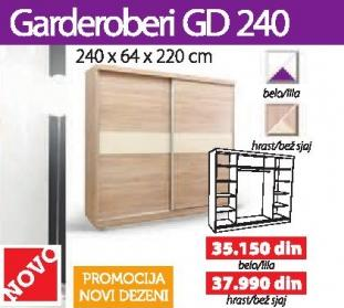 Garderober Gd240 Belo/lila