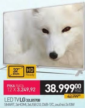 """Televizor LED 32"""" 32LB570B"""