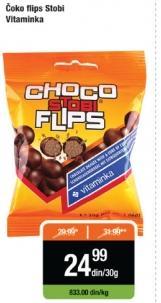 Flips čokolada