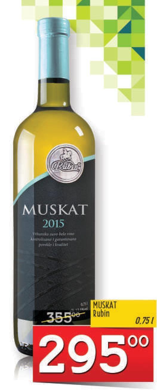 Belo vino Muskat