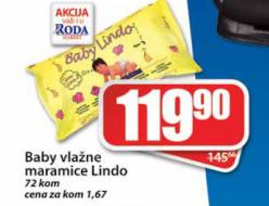 Vlažne maramice Lindo