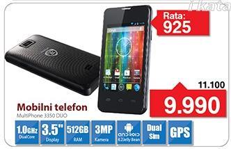 Mobilni telefon MultiPhone 3550 Duo