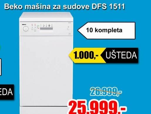 Mašina za sudove DFS 1511