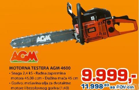Motorna testera 4600 AGM