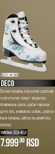 Klizaljke Deco
