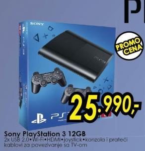 Konzola PlayStation 3 12 Gb